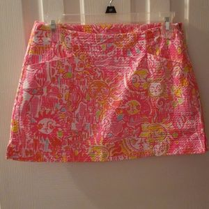 Lilly Pulitzer More Kinis in the Keys Skort  NWOT